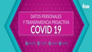 Datos Personales y Transparencia Proactiva Covid19